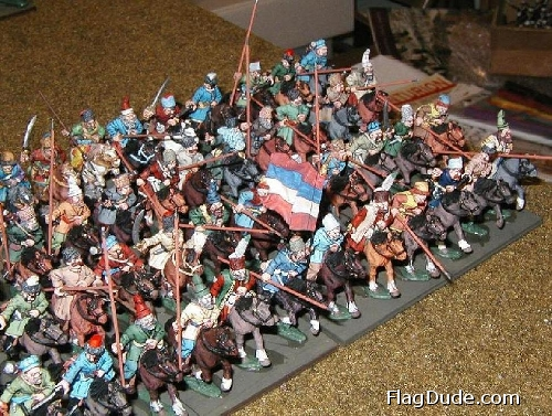 Keith's 25mm Cossacks